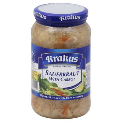 Krakus Sauerkraut With Carrot