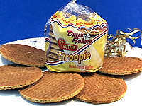 Dutch Stroopie Syrup Waffles
