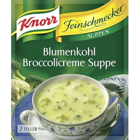 Knorr Broccoli Cremesuppe