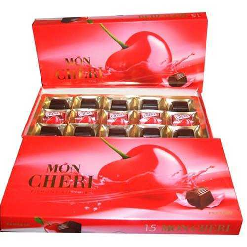 Mon Cheri Liquor chocolates