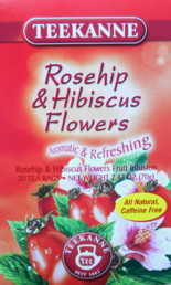 Teekanne Rosehip and Hibiscus Flowers