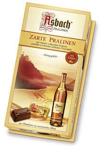 Asbach Uralt Brandy Filled with Sugar Crust Zarte Pralines