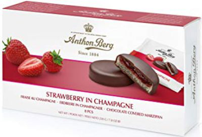 Anthon Berg Strawberry in Champagne SALE