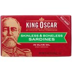 King Oscar Sardines or Anchovies