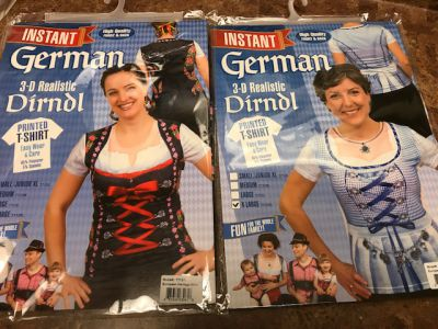 Blue or Red Edelwiss Dirndl