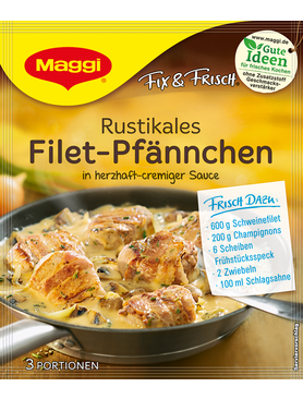 Maggi Fix Frisch Rustikales Filet Pfannchen SALE