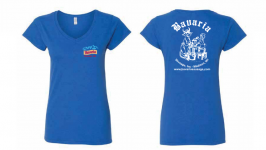 Bavaria V Neck Womens Shirts