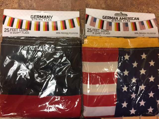 German Flag Polyester Banners