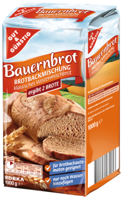 Gut & Gunstig Bauernbrot Bread Mix