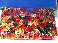 Haribo Gummies Gold Bears 5 lb. Bulk Bag