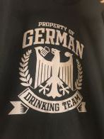 German Drinking Team Tee