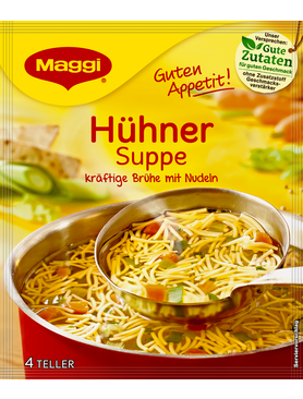 Maggi Guten Appetit Huhner Suppe