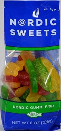 Nordic Sweets Gummi Fish