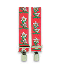 Red Edelweiss Suspender