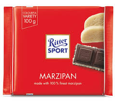 Ritter Sport Marzipan Chocolate Bar 3.5 oz.