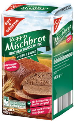 Gut and Gunstig Roggen Mischbrot