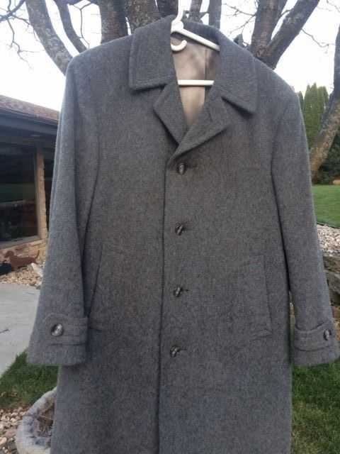Mens German Loden Coat Made by A.Imhof in Bavaria