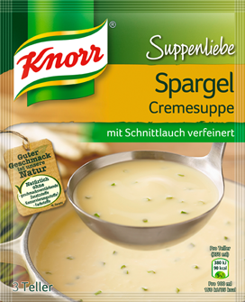 Knorr Suppenleibe Spargel Cremesuppe