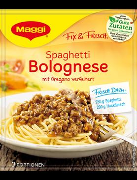 Maggi Fix Frisch Spaghetti Bolognese, Maggi Fixes | {Maggi fix 5}